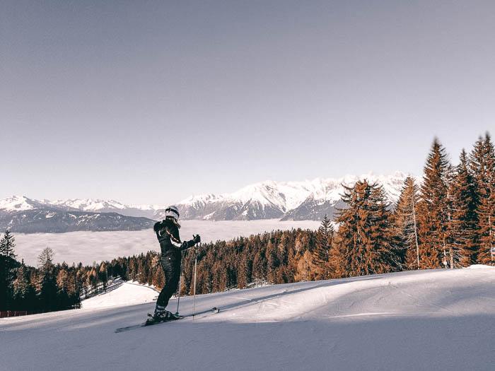 Skifahren Meran