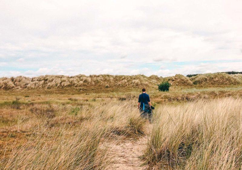 Insel Terschelling Spaziergang Dünen