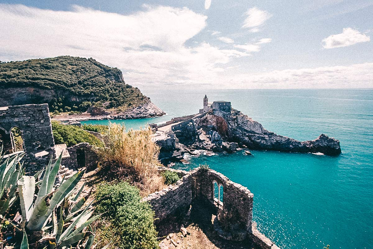 Klippe Cinque Terre Portovenere