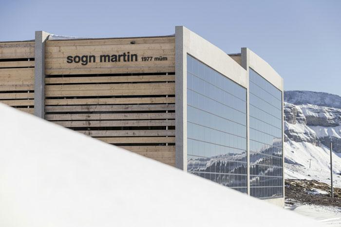Sogn martin Skigebiet Laax