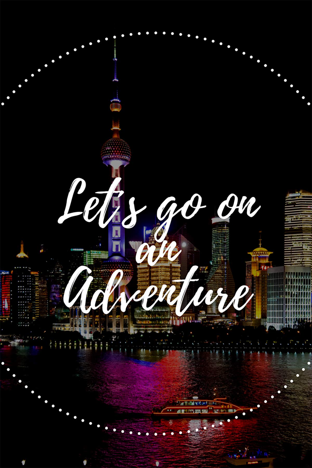 Let's go on an adventure!