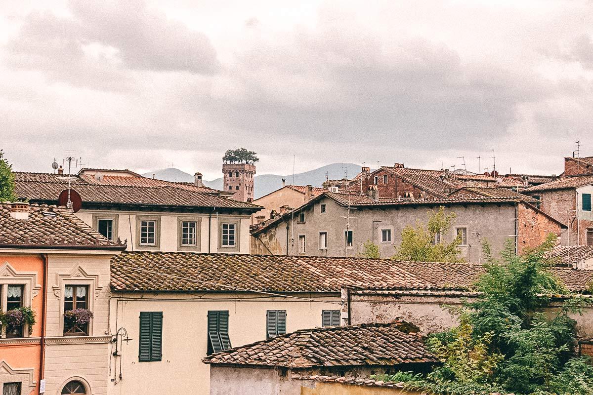 Lucca Norditalien