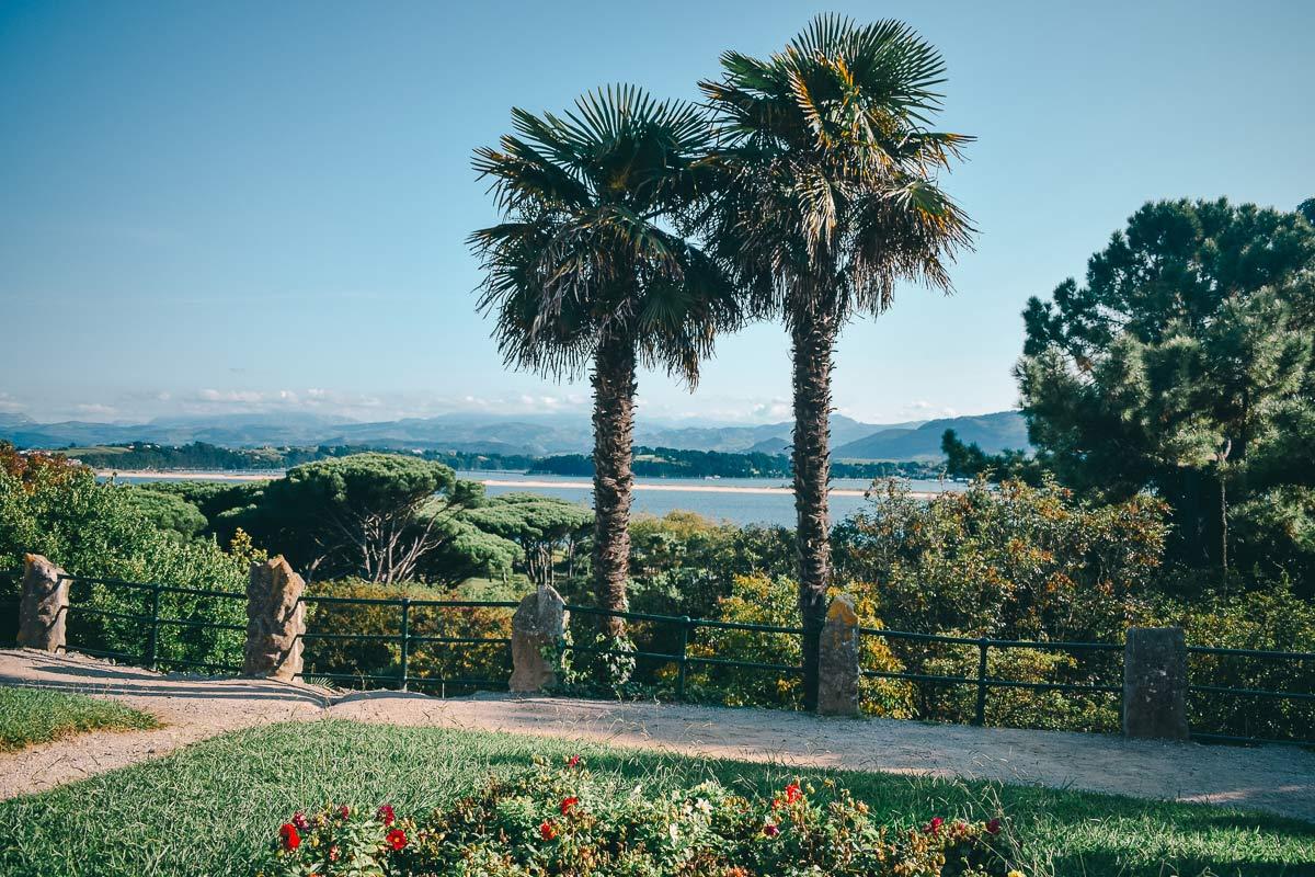 Meerblick Santander in Spanien
