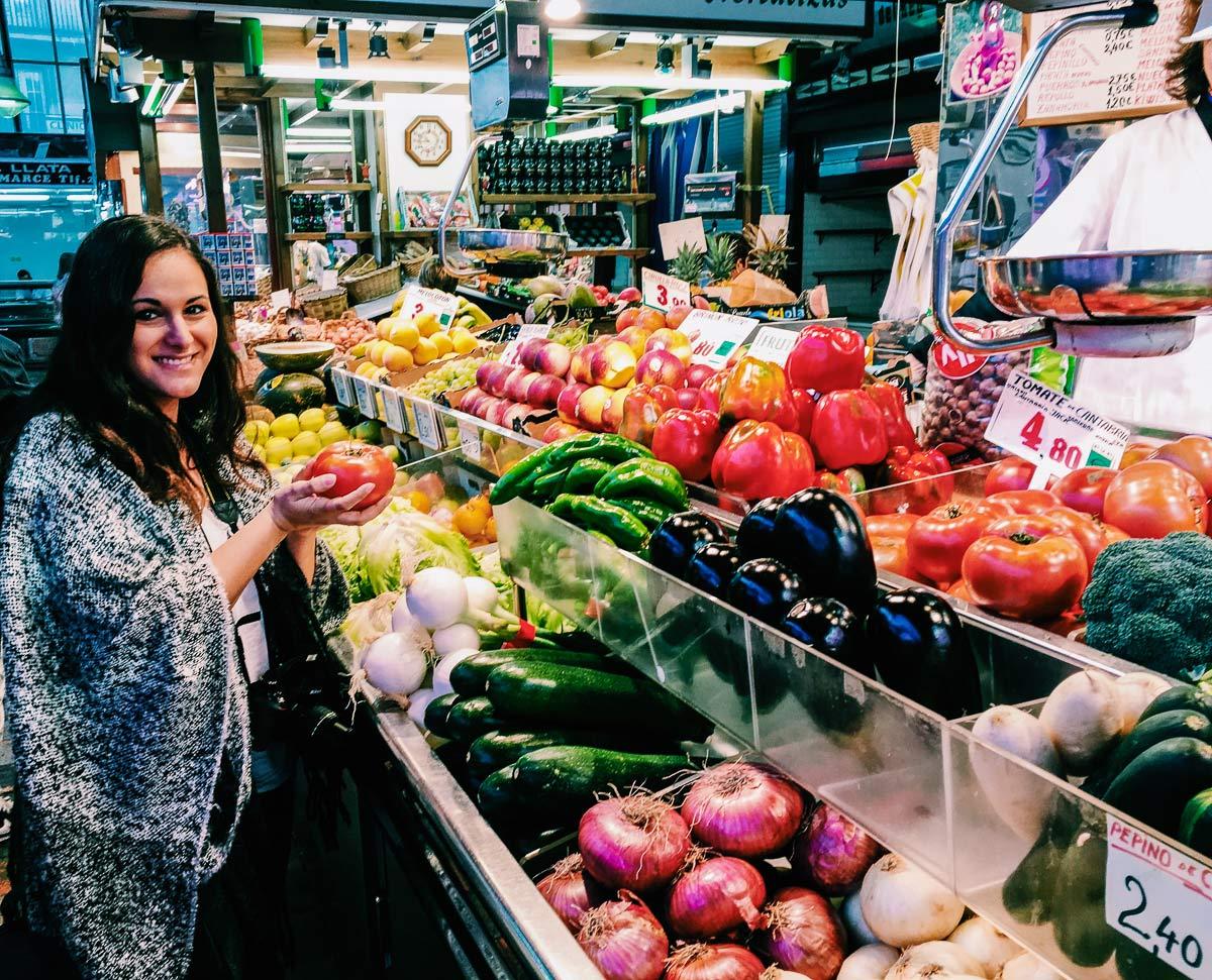 Mercado de la esperanza Vanessa