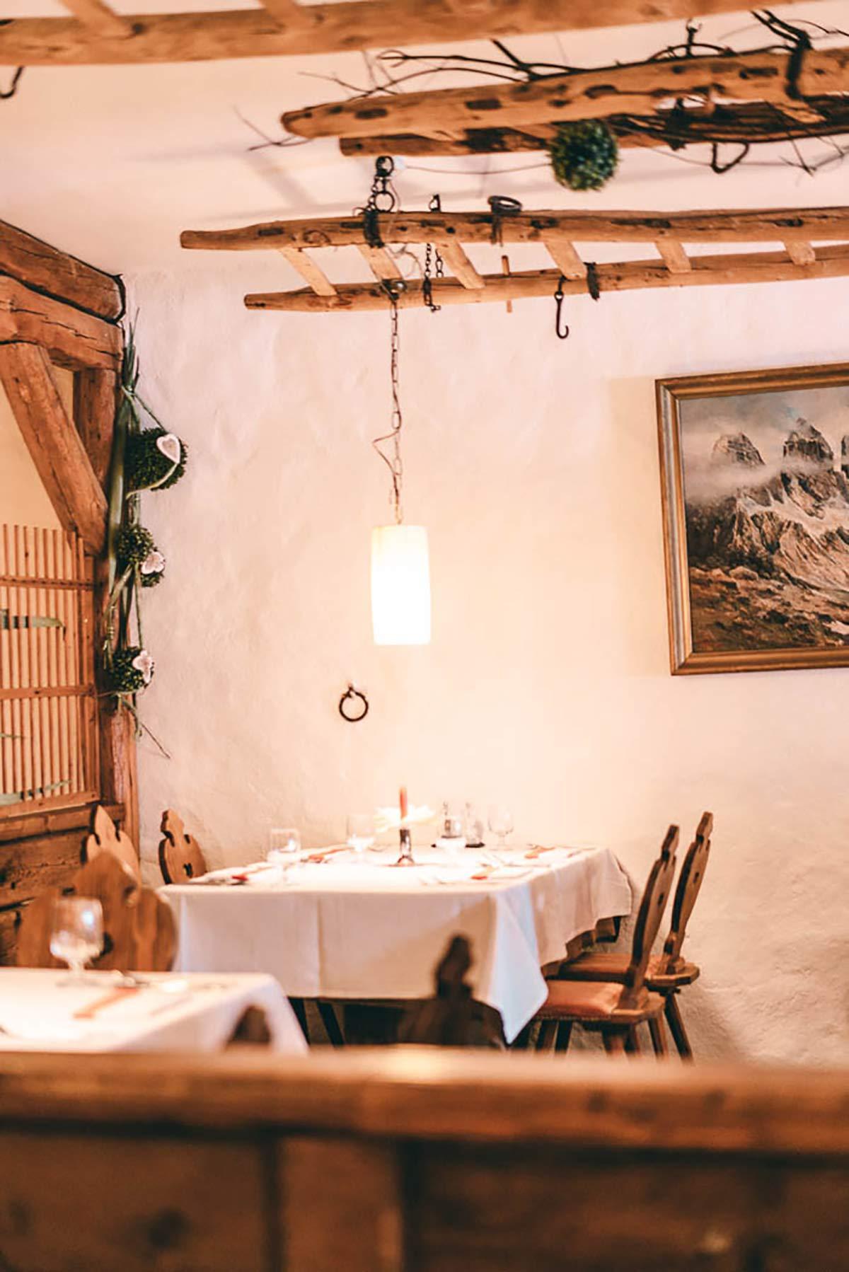 Mittagessen Südtirol