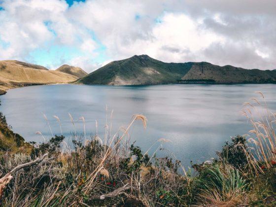 Mojanda in Ecuador