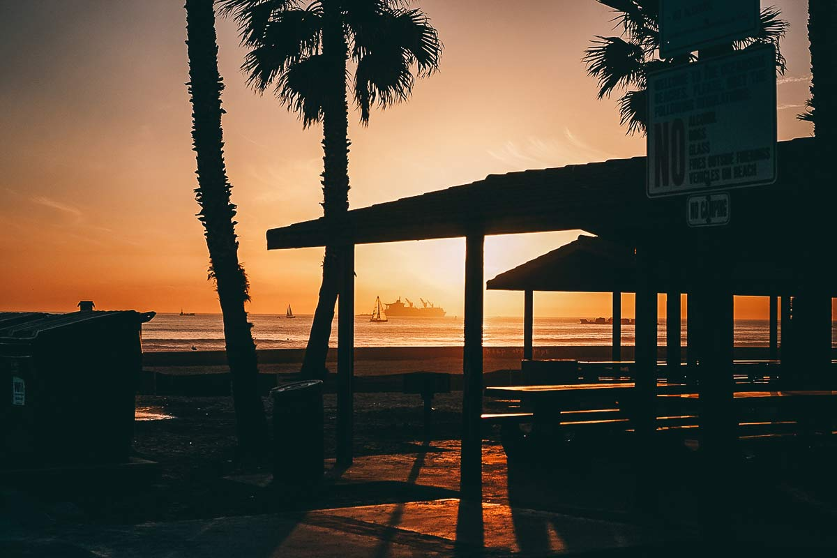 Oceanside Strand Kalifornien