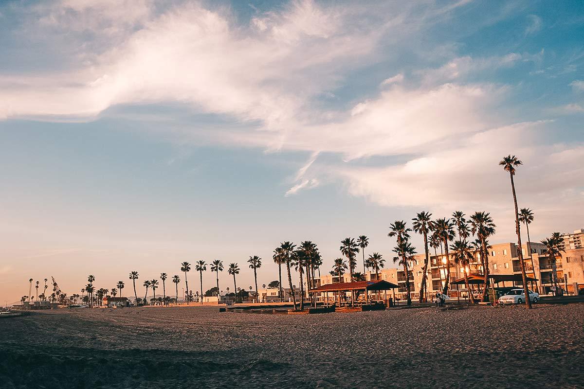 Oceanside Strand Sunset