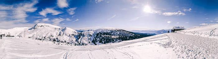 Panoramablick Meran 2000