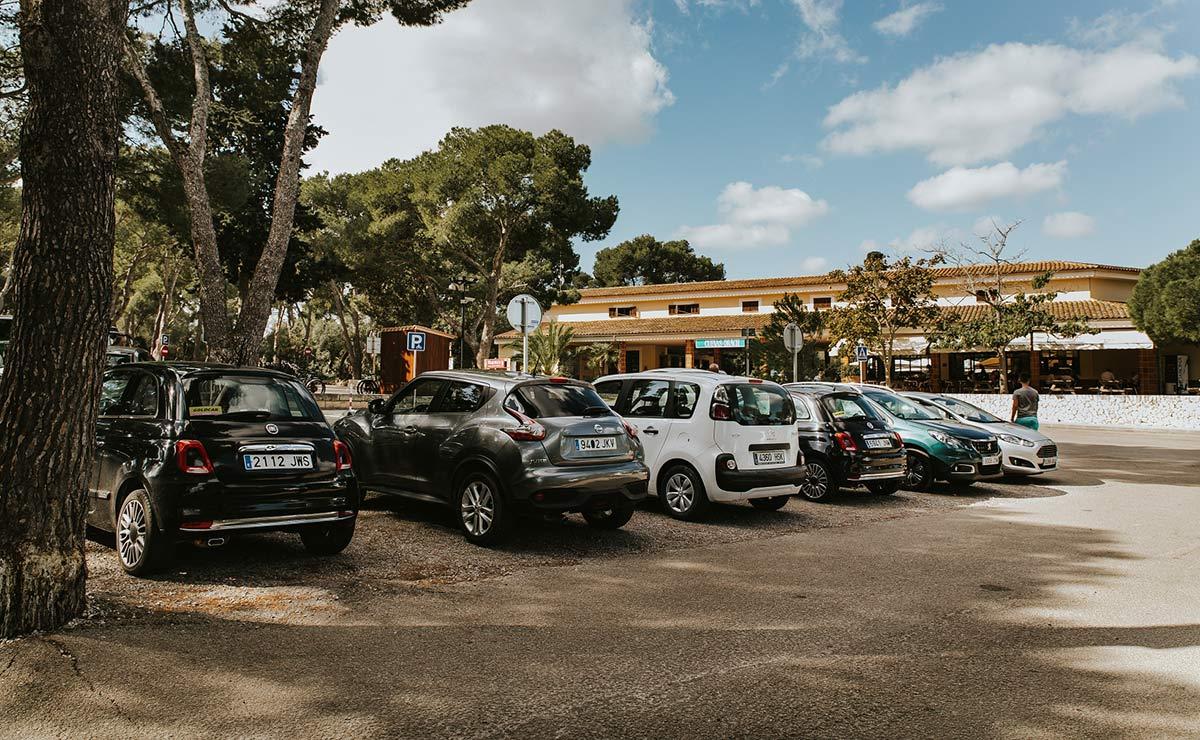 parkplatz cuevas del drach
