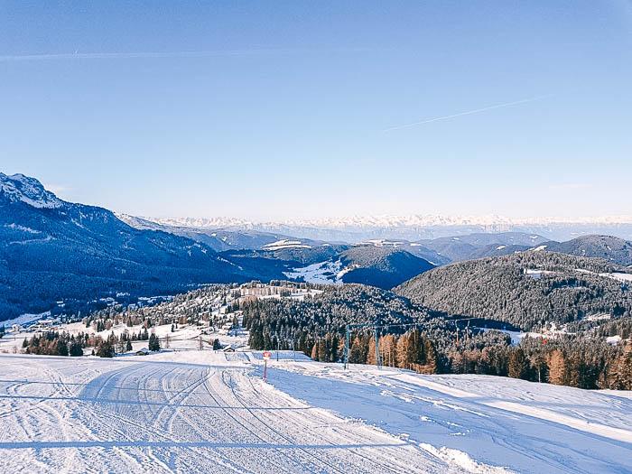 Piste Skigebiet Carezza