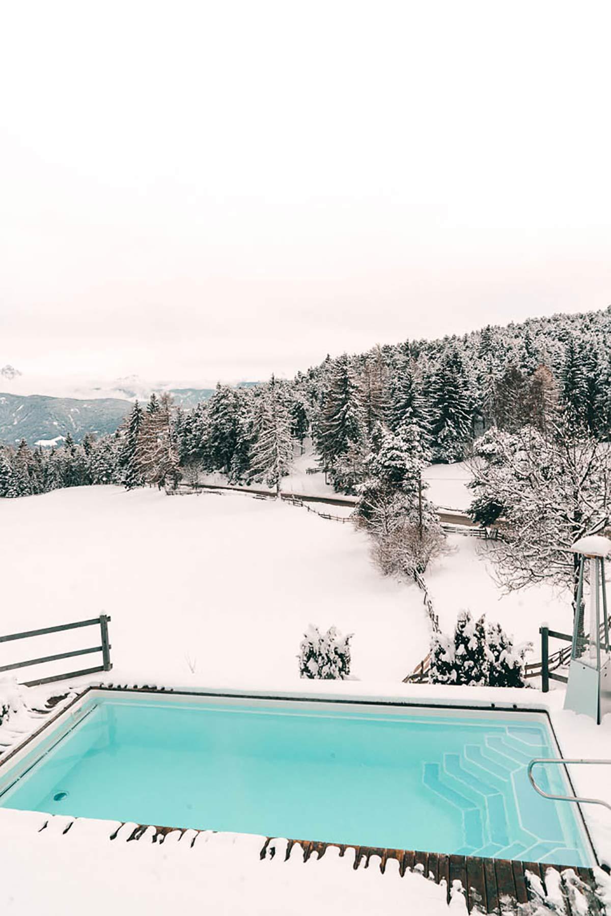 Pool Hotel Tann Südtirol