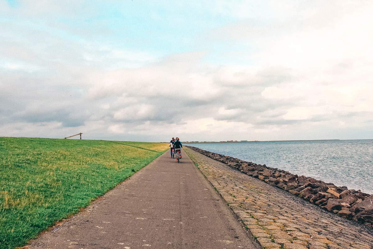 Radtour durch Terschelling