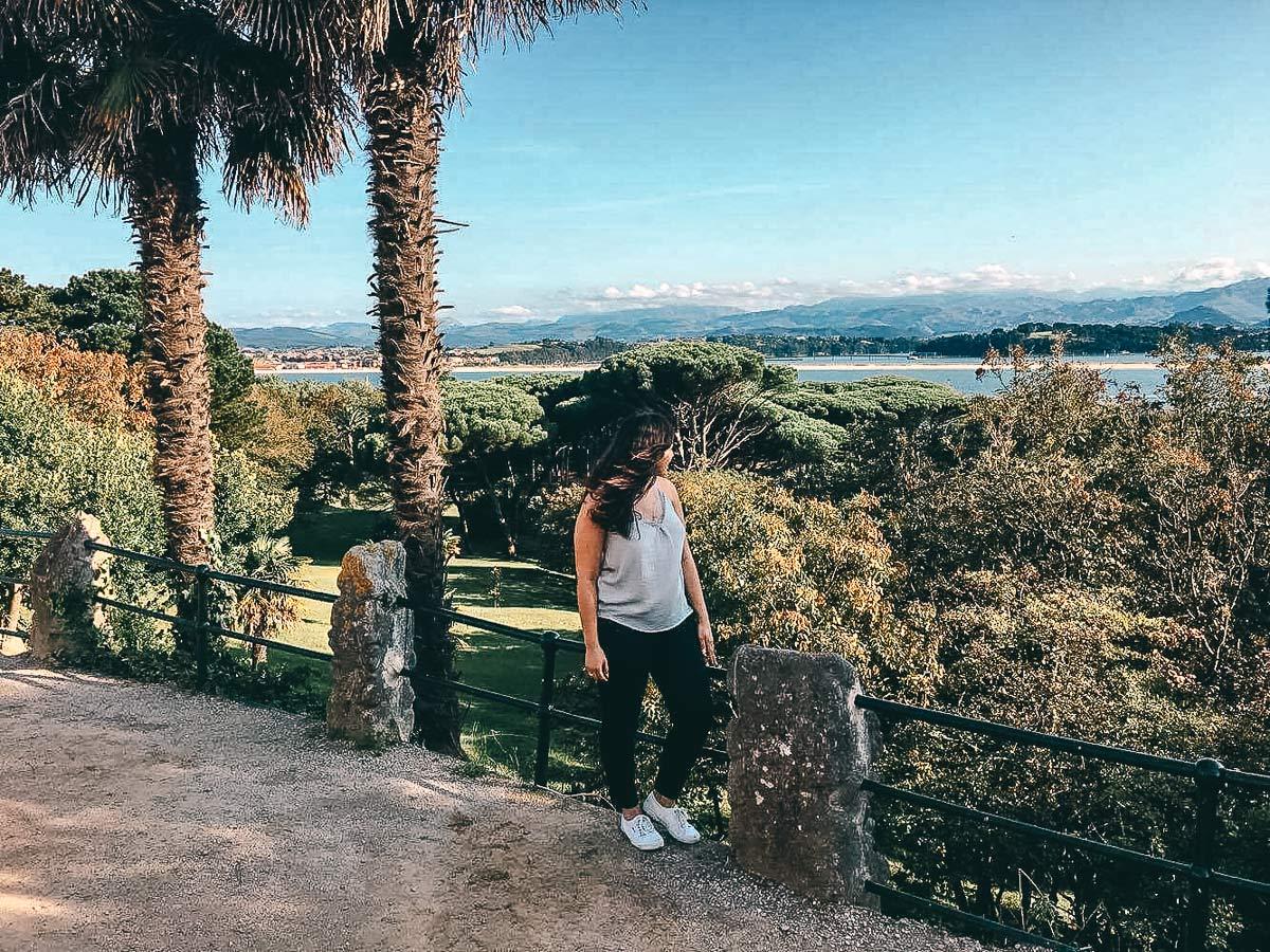 Schloss Santander in Spanien