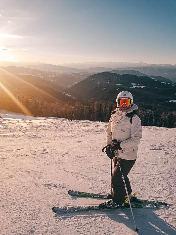 Skifahren Carezza Laura