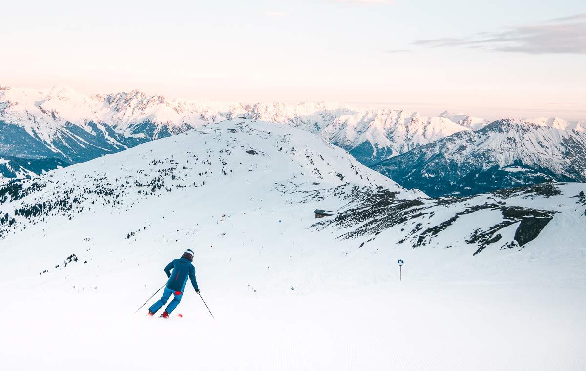 Skifahren Skigebiet Hochzeiger