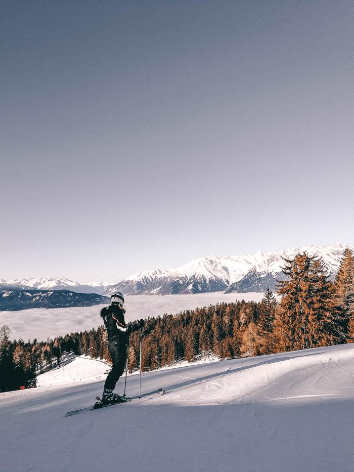 Skifahrerin Meran 2000