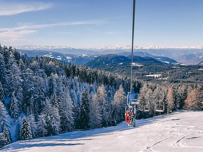 Skigebiet Carezza Piste