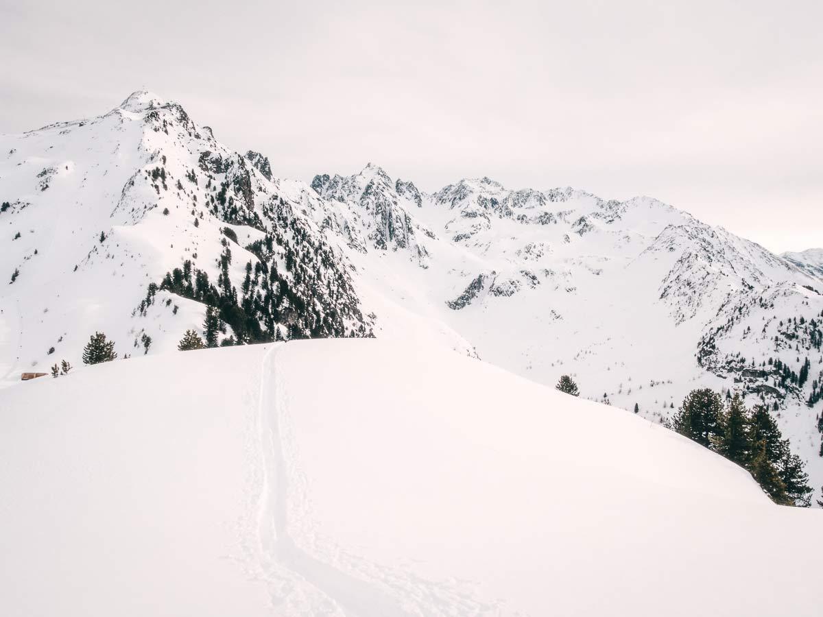 Skigebiet Hochzeiger Landschaft