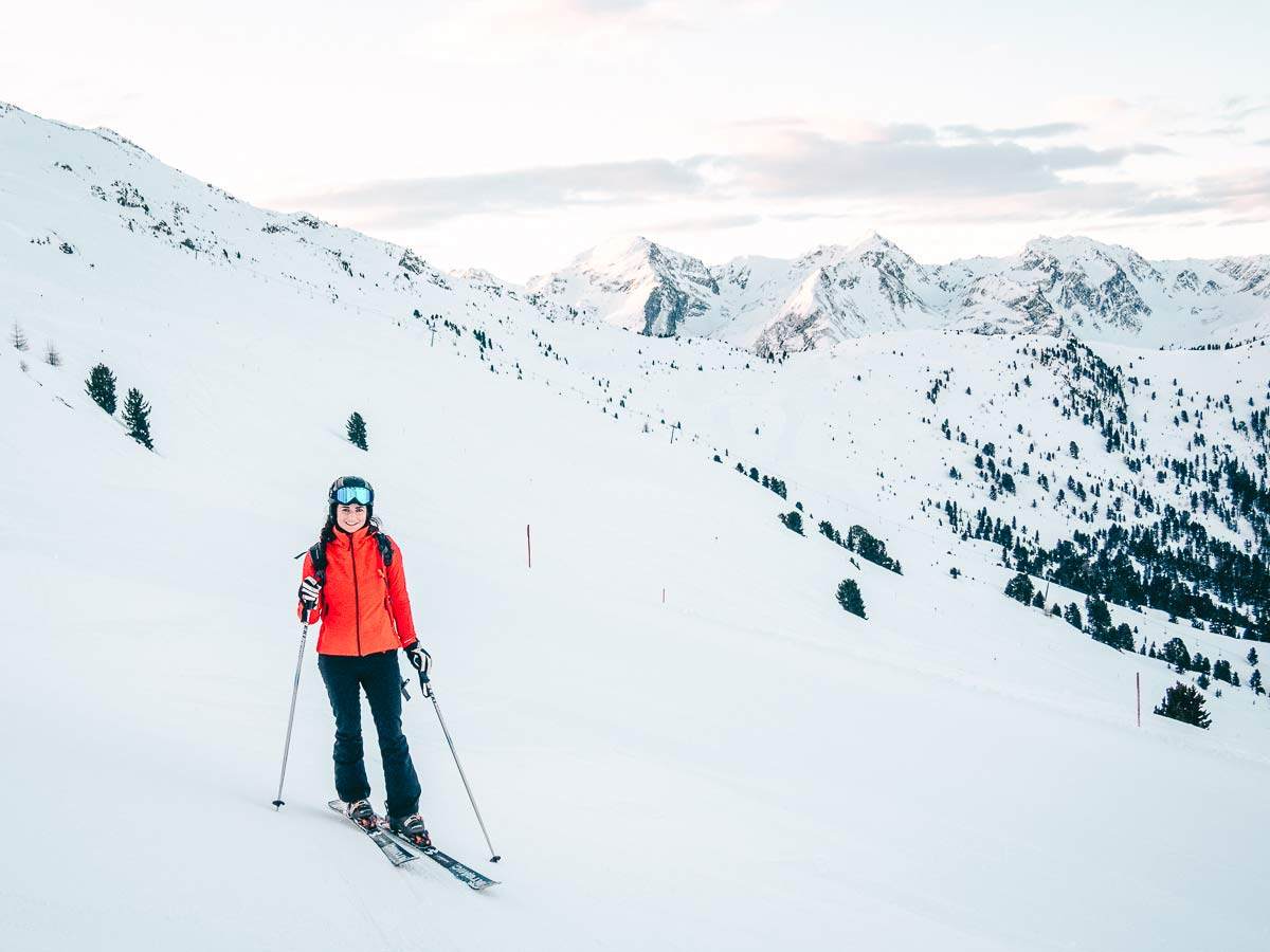 Skigebiet Hochzeiger Skifahren