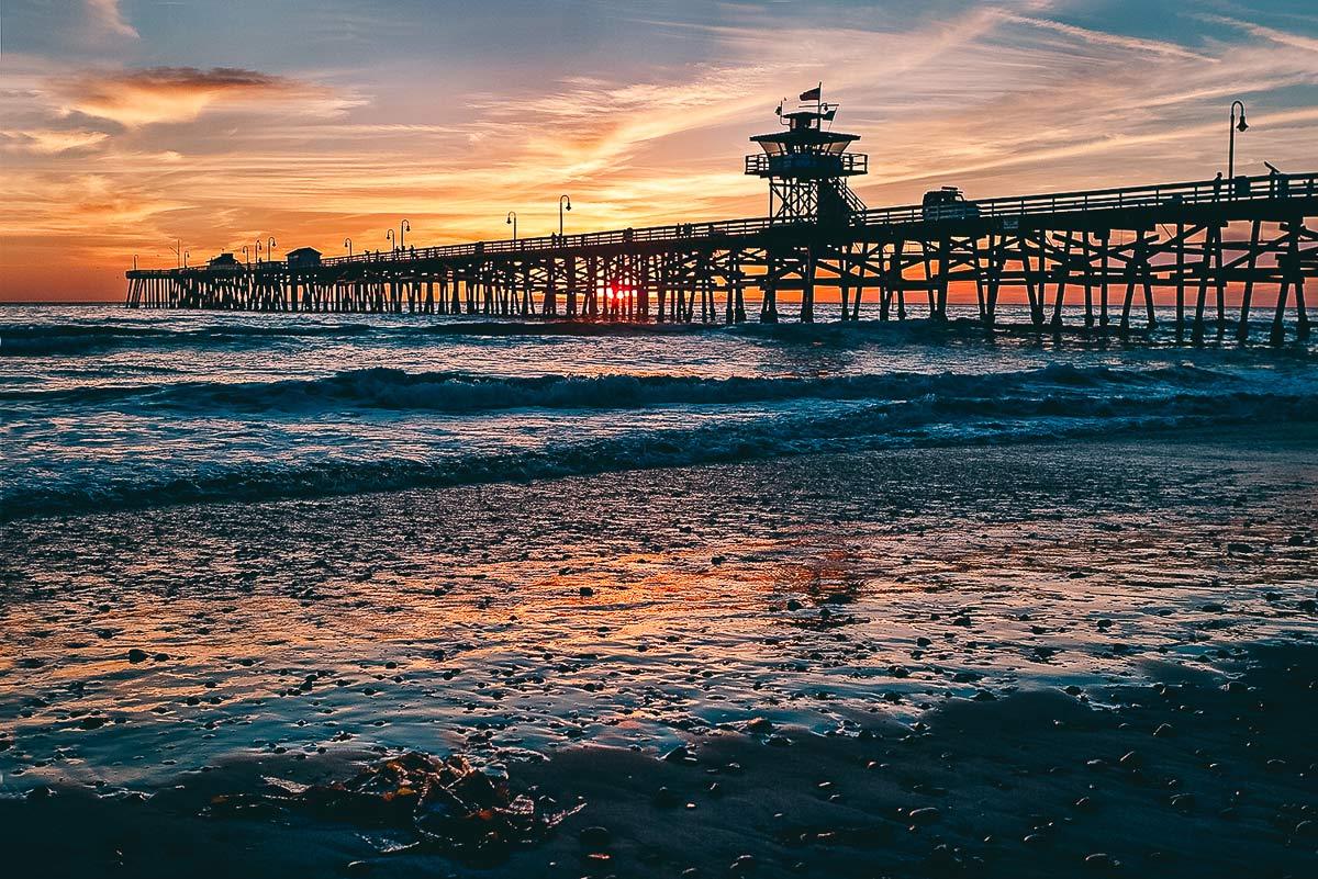 Sonnenuntergang in San Clemente