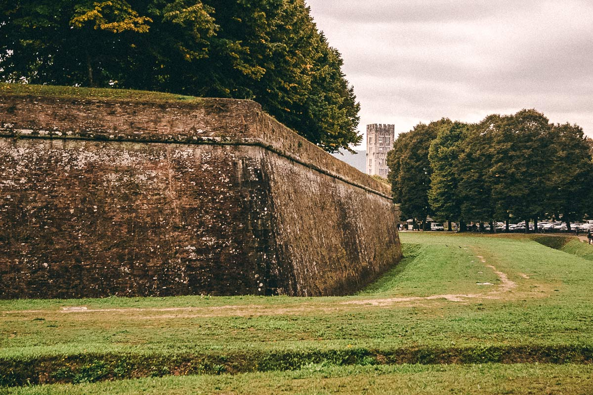 Stadtmauern Lucca