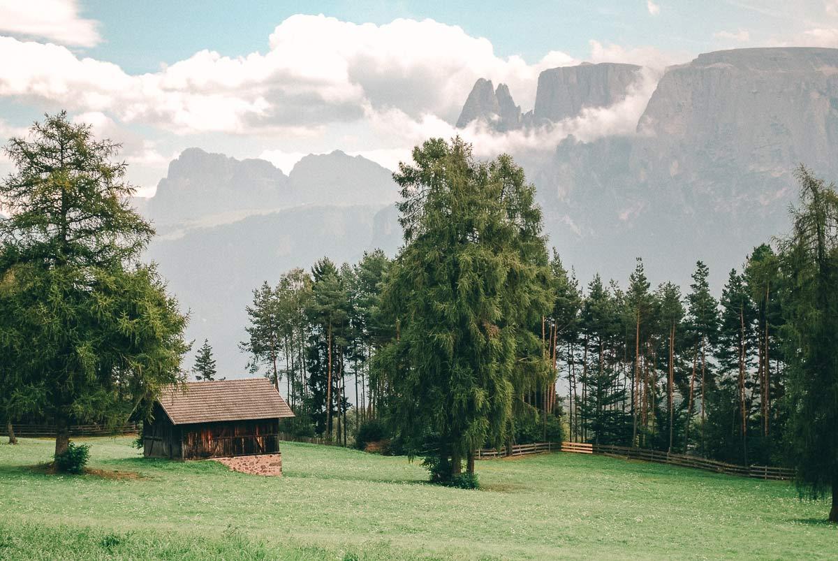 Südtirol Landschaft Aussicht