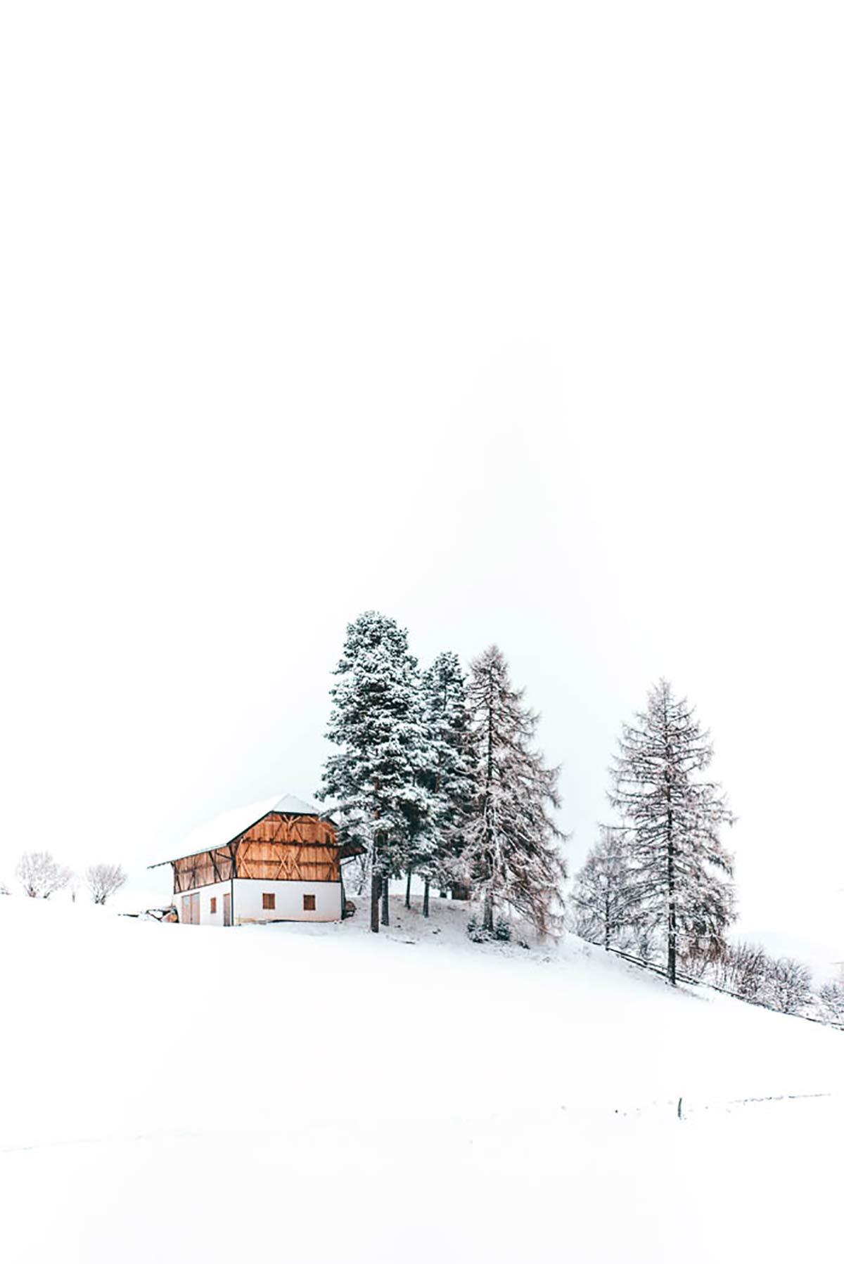 Südtiroler Winter