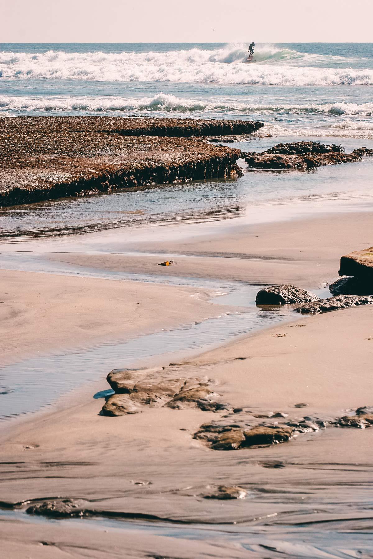 Swamis Beach Kalifornien Surfen