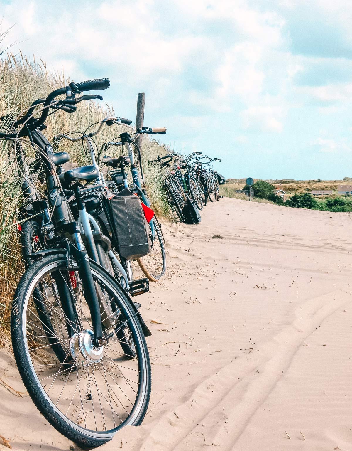 Terschelling Strand Fahrrad