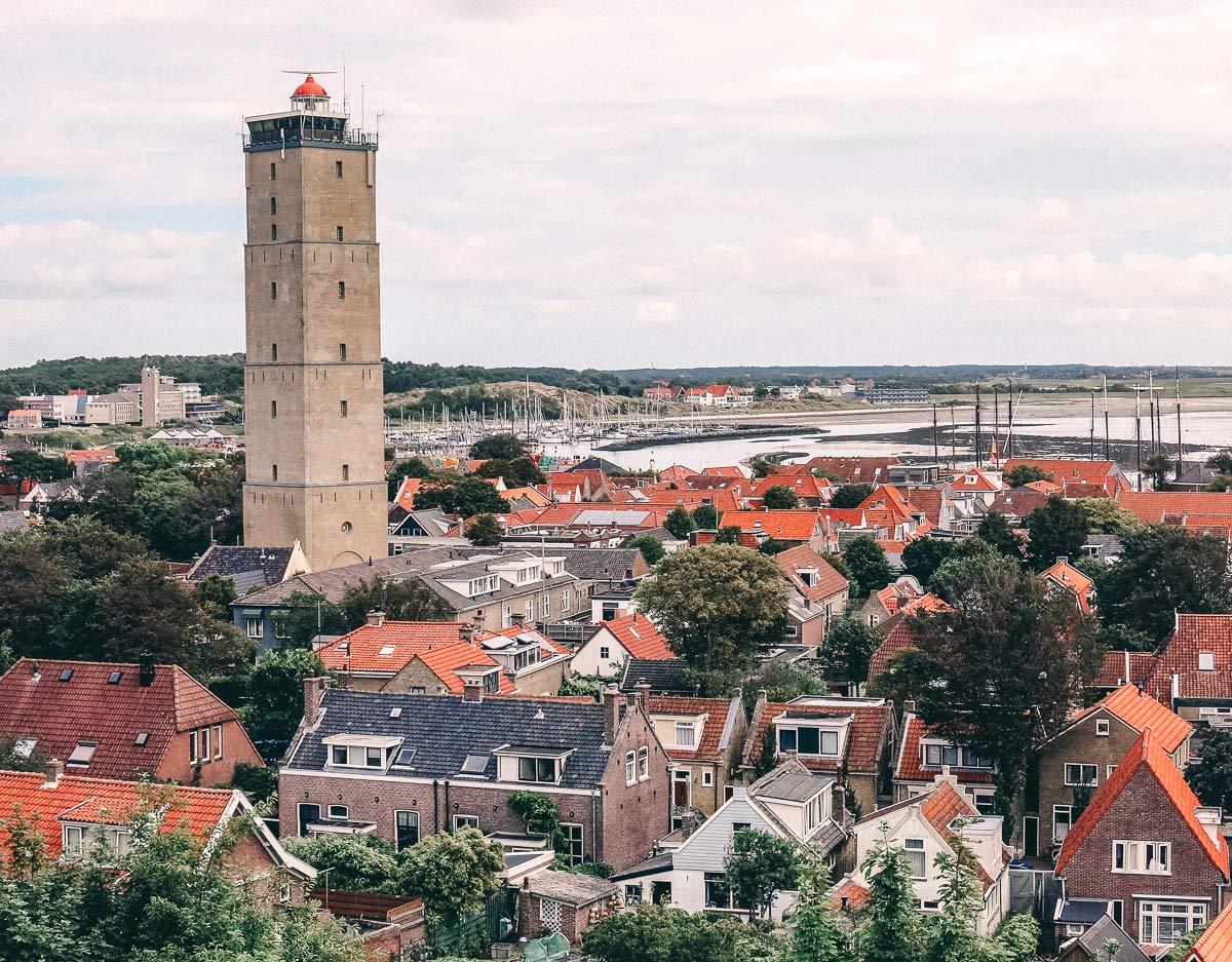 Terschelling West Terschelling Leuchtturm