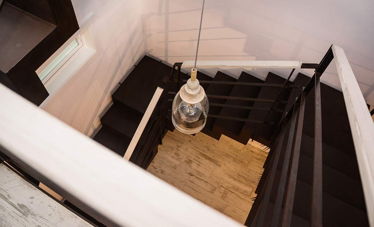 treppe ferienwohnung costix