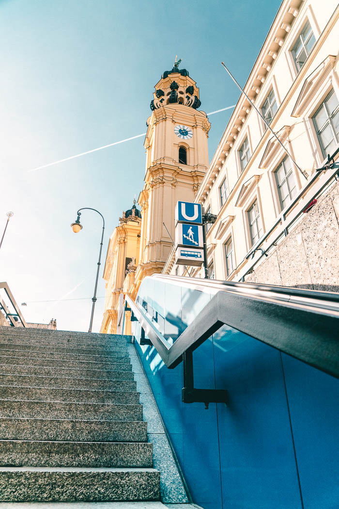 U-Bahn Odeonsplatz
