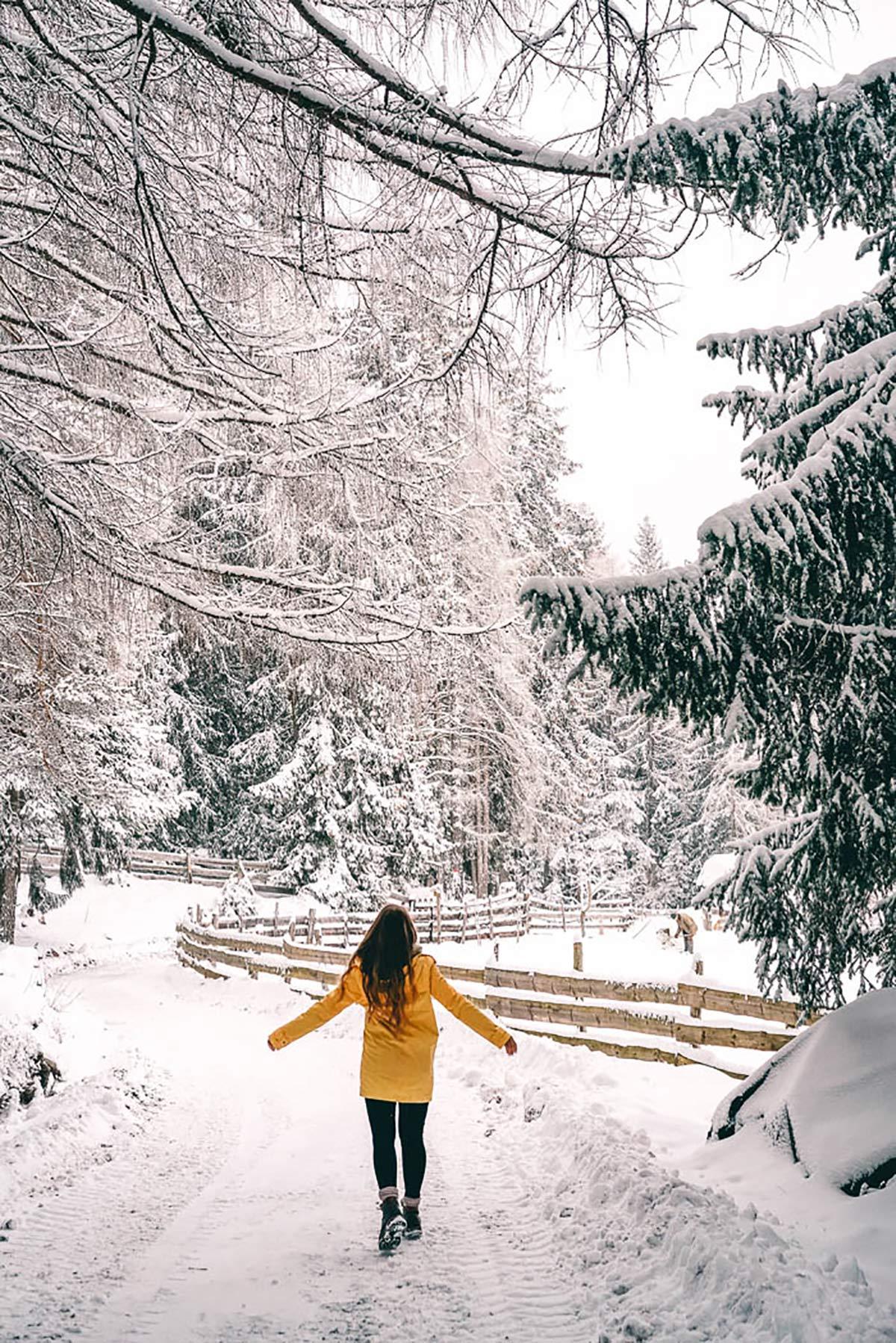 Winter Südtirol Christine Neder