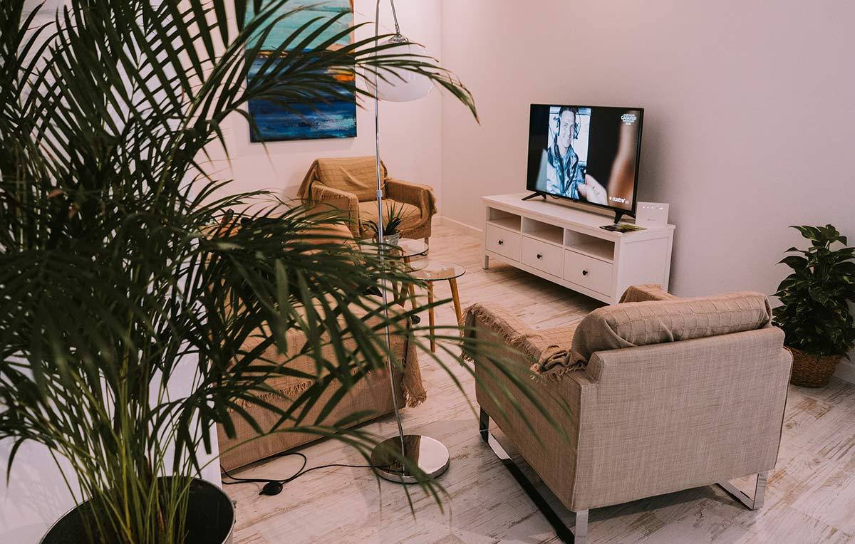 wohnzimmer ferienwohnung costix