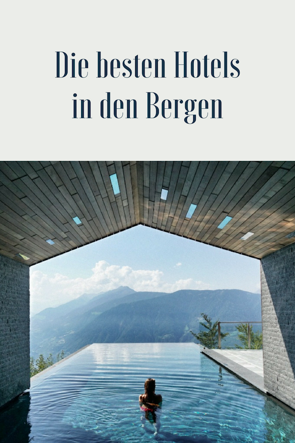 Wellness Hotels in den Bergen