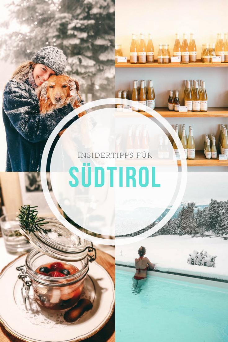 Insidertipps für Südtirol