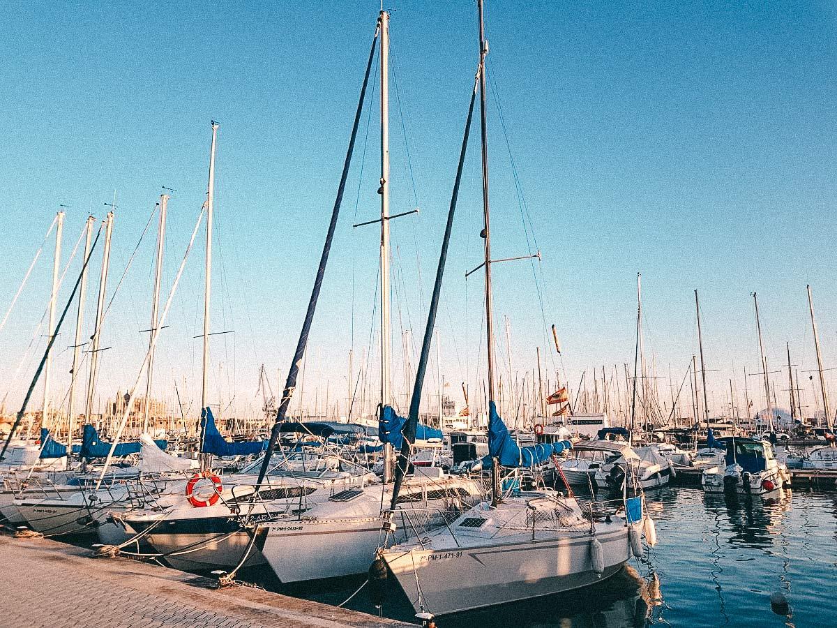 yachthafen palma mallorca
