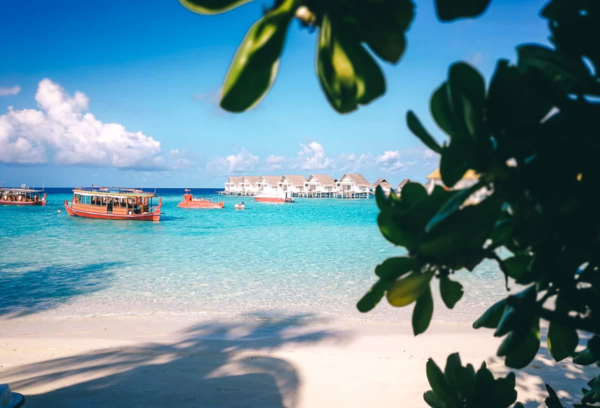 Ausblick Malediven