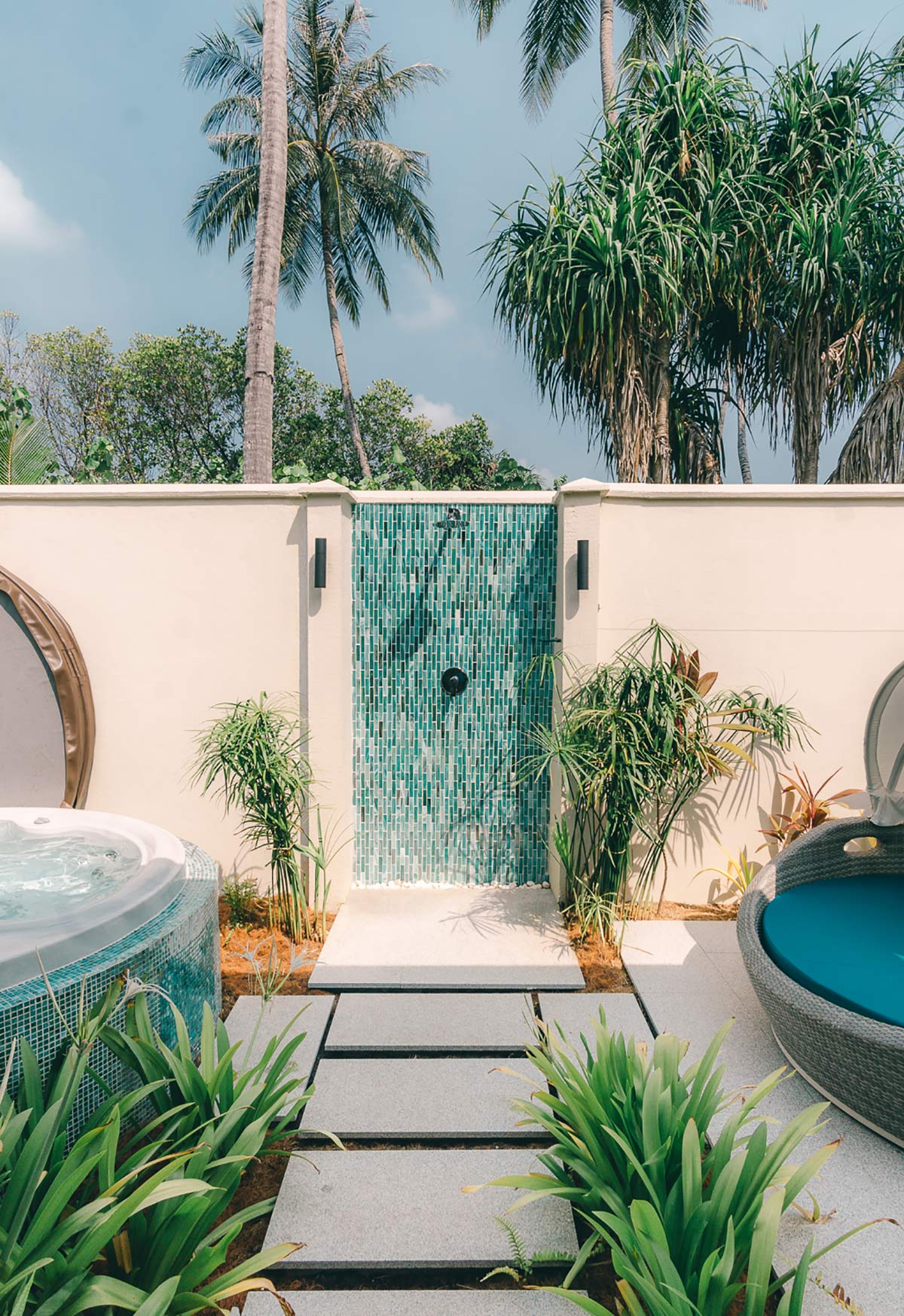 Badezimmer im Kandima