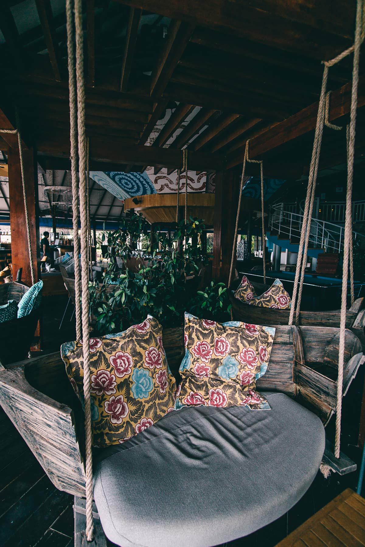 Bootsschaukel Malediven