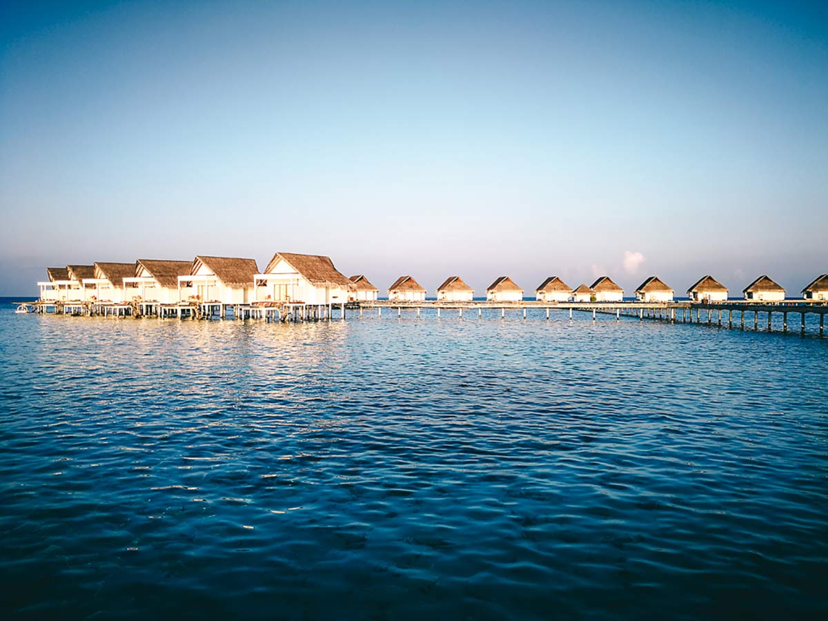 Centara Grand Wasserbungalows