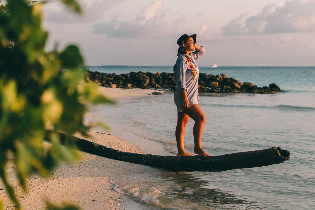 Christine Martiashvili Malediven
