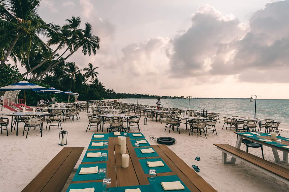 Earth Hour Malediven