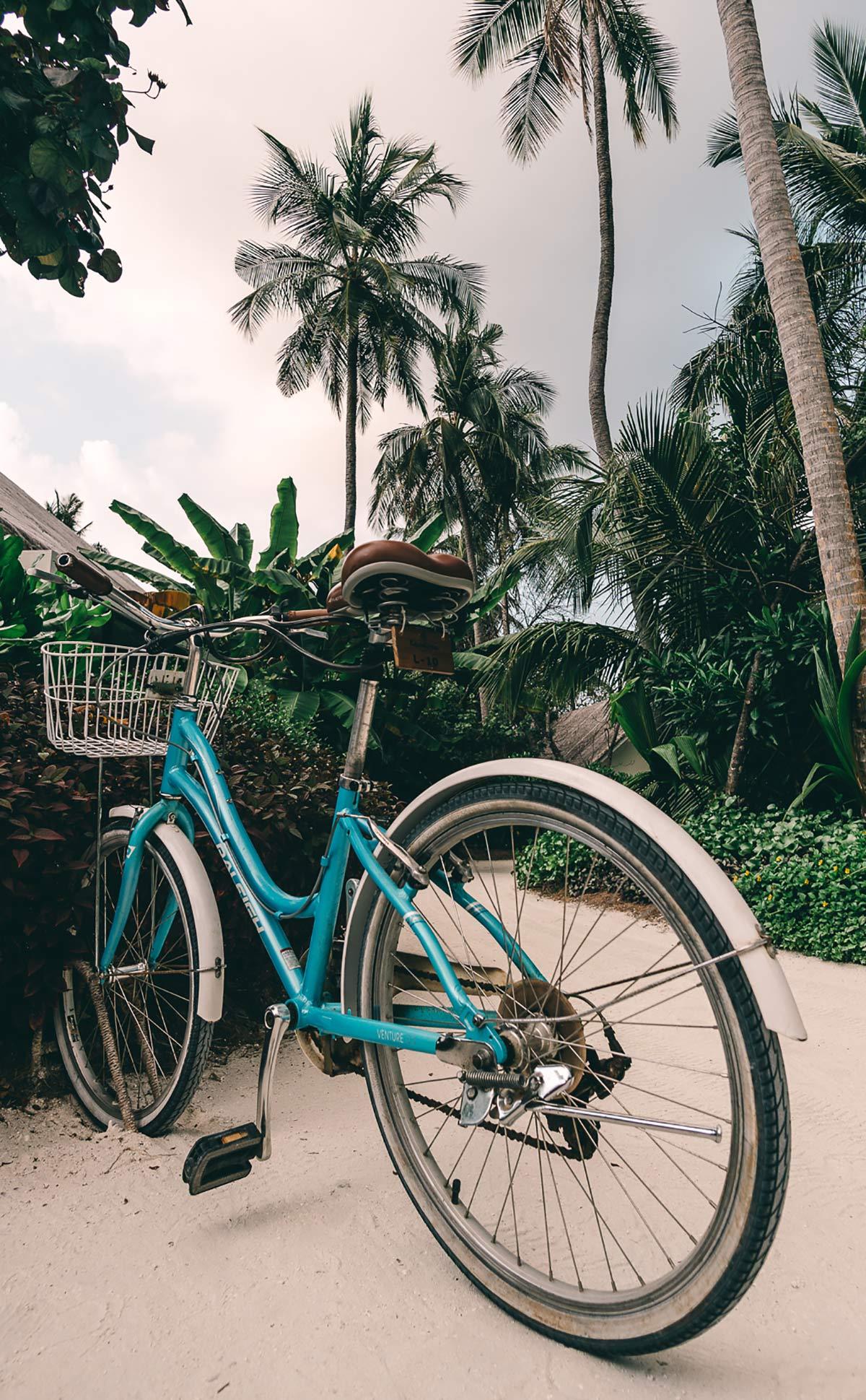 Fahrrad Beachcruiser Malediven