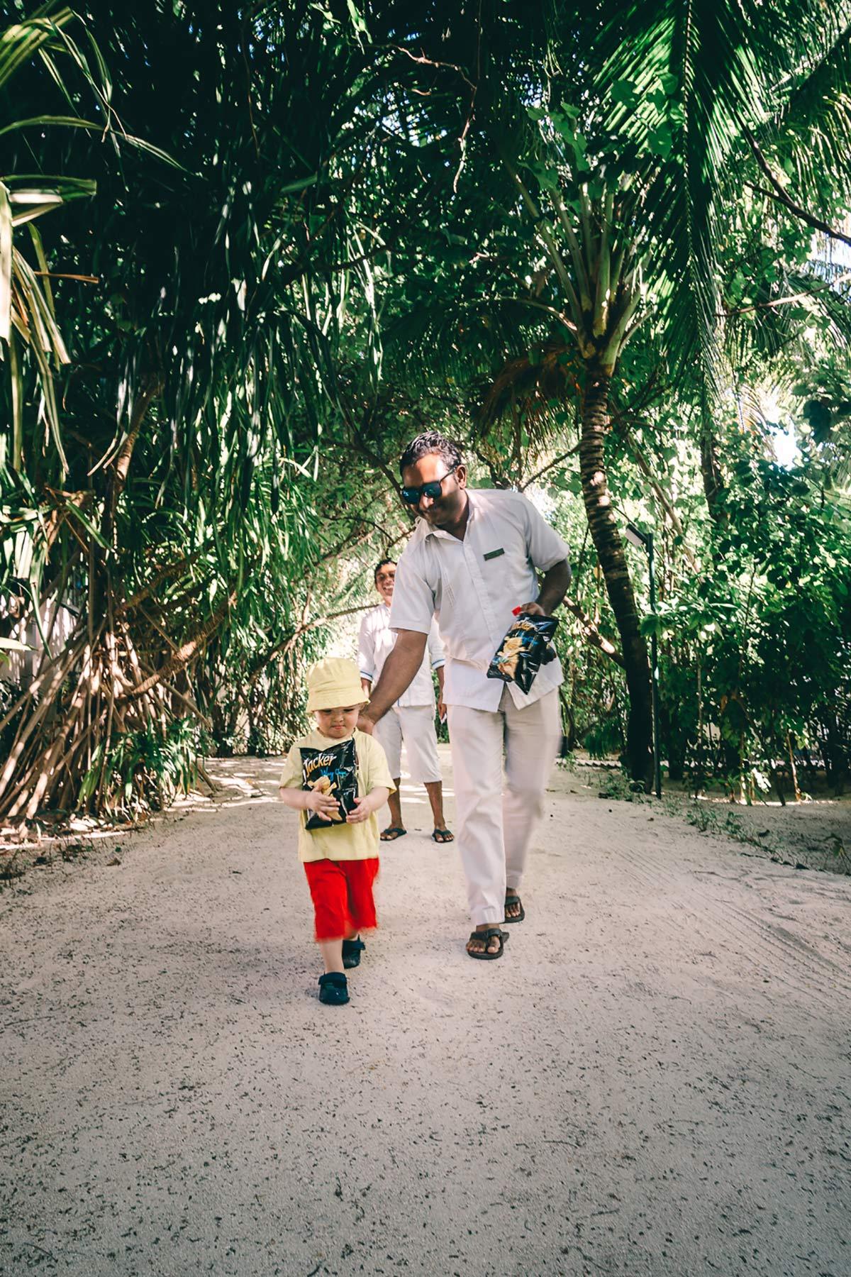 Familenurlaub Malediven