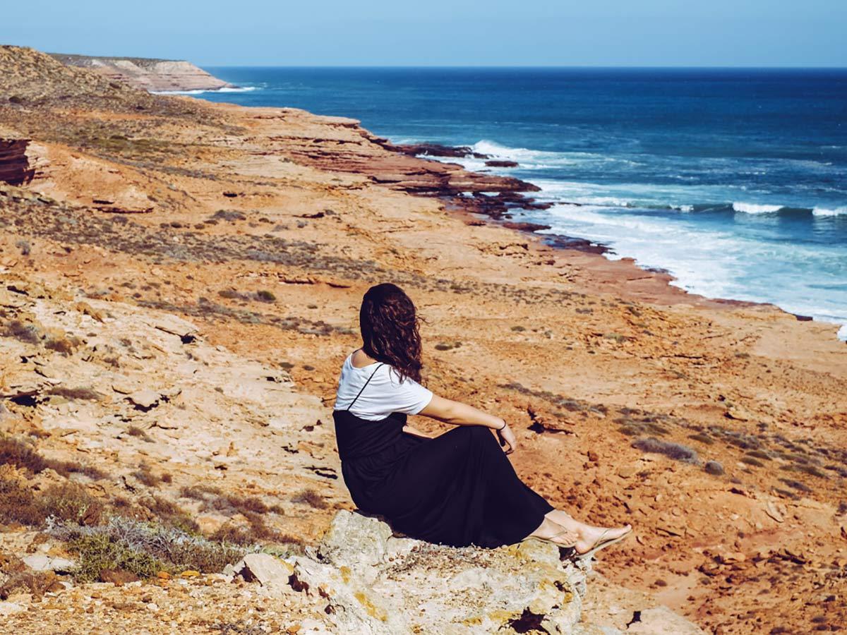 Kalbarri Rote Klippen Westaustralien