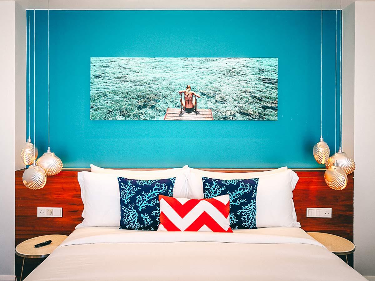 Kandima maldives Zimmer