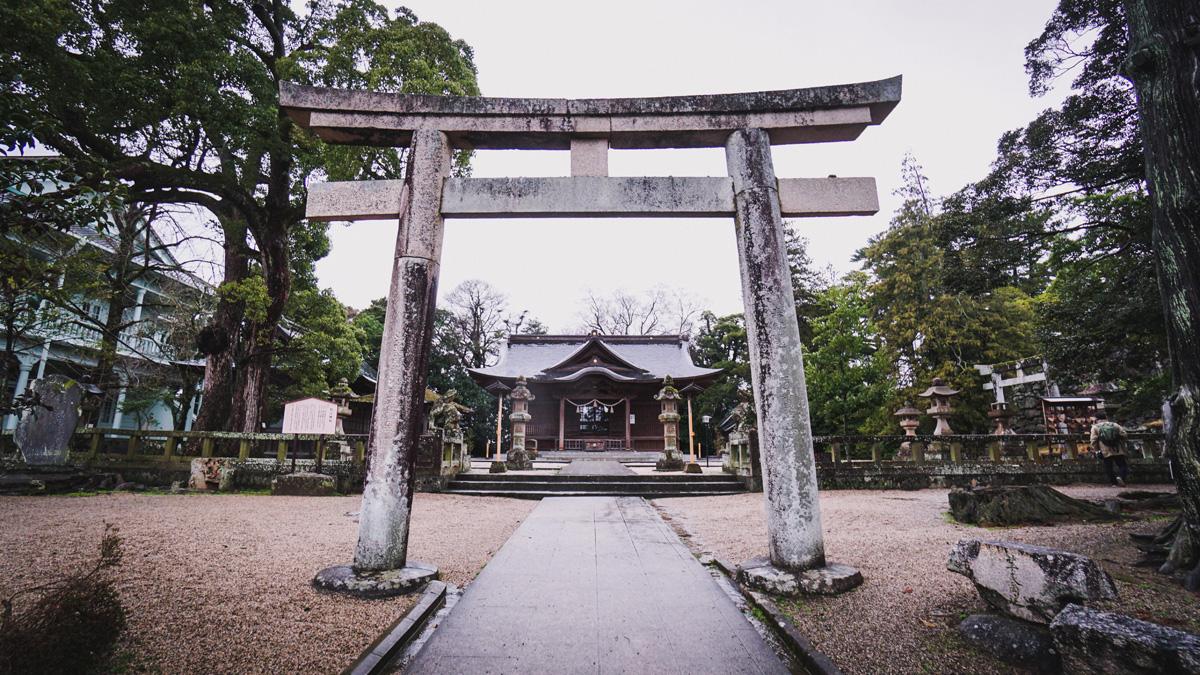 Matsue-Castle-Schrein