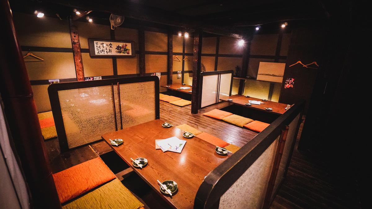 Matsue-Restaurant-Innen